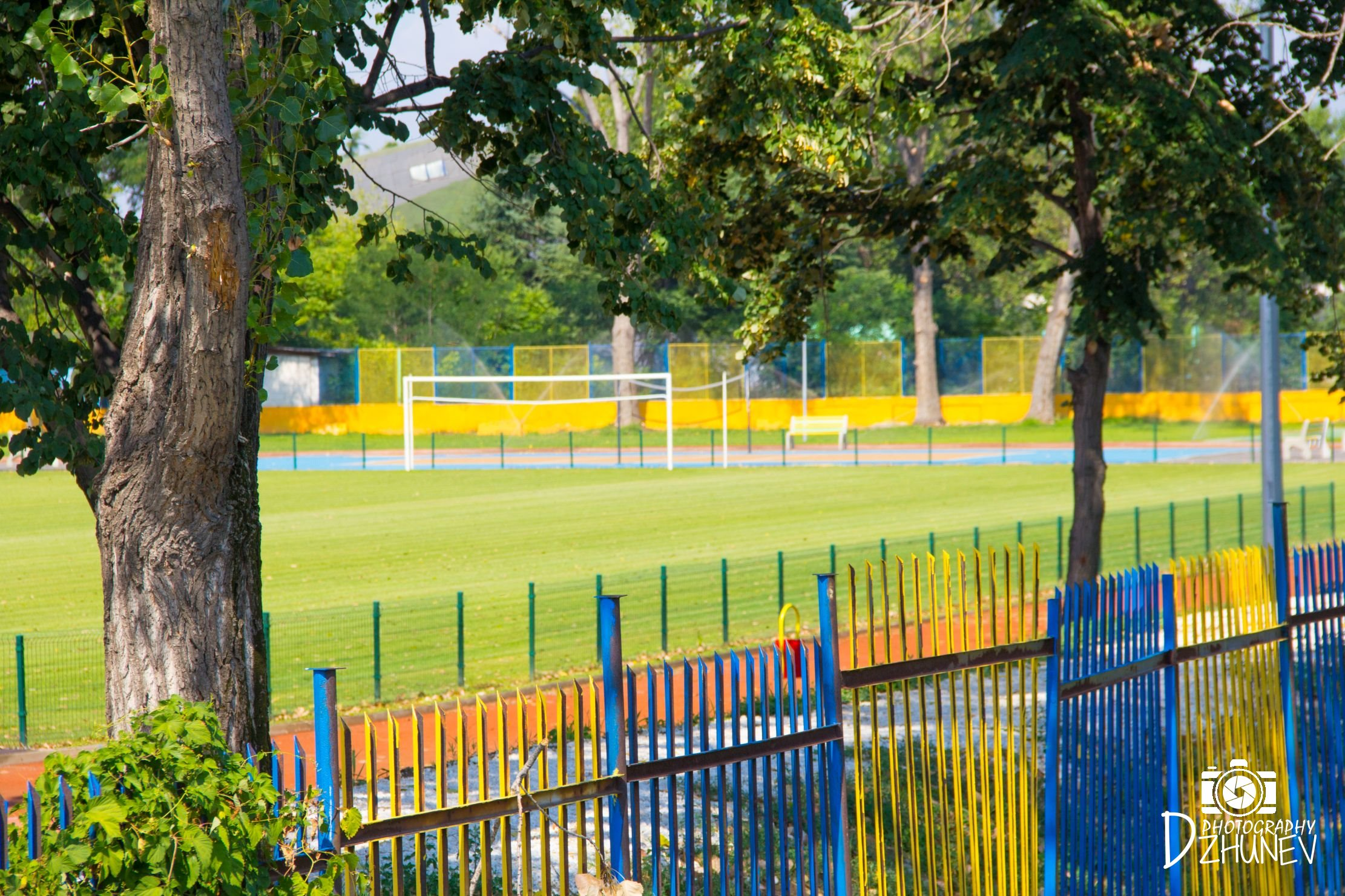 Паркът в град Пазарджик